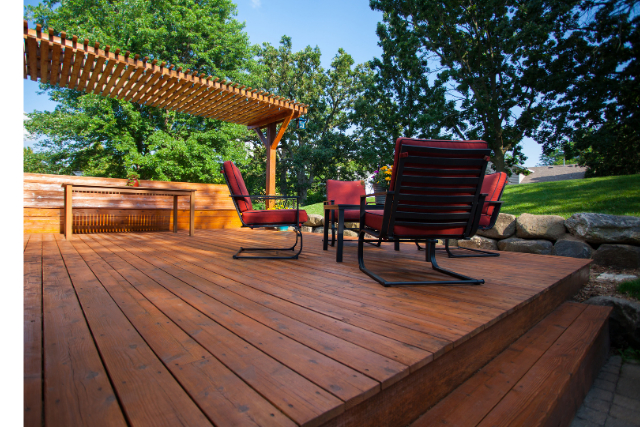 Hillsboro Deck staining final project