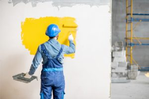 Hillsboro Interior Painter of a commercial property